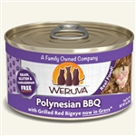 Weruva Cat Polynesian Bbq 3 Oz.  Case of 24