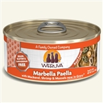 Weruva Cat Marbella Paella 5.5 Oz.  Case of 24