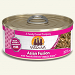 Weruva Cat Asian Fusion 5.5 Oz.  Case of 24