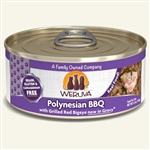 Weruva Cat Polynesian Bbq 5.5 Oz.  Case of 24