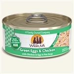 Weruva Cat Green Egg  Chicken 5.5 Oz.  Case of 24