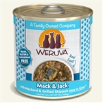 Weruva Cat Mack Jack 10 Oz.  Case of 12