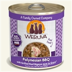 Weruva Cat Polynesian Bbq 10 Oz.  Case of 12