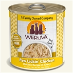 Weruva Cat Paw Lickin Chicken 10 Oz.  Case of 12