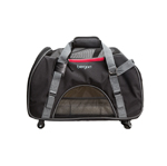 Bergan Wheeled Comfort Carrier Black Large