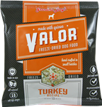 Grandma Lucys Dog Valor Freeze-Dried, Grain Free  Turkey Quinoa  Trial  1.5oz. (Case of 6)