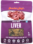 Grandma Lucys Dog Freeze Dried  Liver Treat  3 oz..