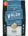 Grandma Lucys Dog Valor Freeze-Dried, Grain Free  Fish  Quinoa 3 Lbs.