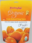 Lucy Dog Organic Baked Treat Pumpkin 8 oz.