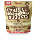 Primal Pet Foods Freeze Dried Cat Food- Venison  14oz.
