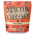 Primal Pet Foods  Freeze Dried Cat Food Pork 14 oz.