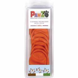 Pawz Dog Boots Extra Small Orange