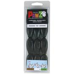 Pawz Dog Boots Black Tiny