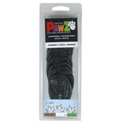 Pawz Dog Boots Black Extra Small