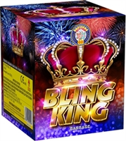 Bling King 16shot Cake from Sonic Fireworks Shop