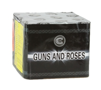 Guns & Roses Cake from Sonic Firework Shop