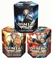 Ninja Selection Cake Pack from Sonic Fireworks Shop