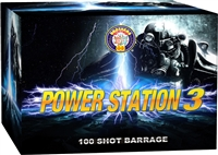 Power Station 3 Cake from Sonic Firework Shop