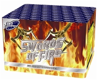 Swords of Fire Cake from Sonic Firework Shop