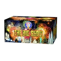 The Big Show Cake from Sonic Firework Shop