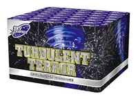 Turbulent Terror Fan Cake from Sonic Firework Shop