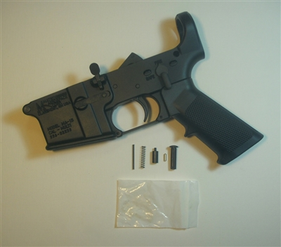 AR15 Matrix Lower Receiver - Loaded (with Receiver Kit and Grip)