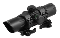 "UTG 6.4"" ITA Red/Green CQB T-Dot Sight with QD Mount Base"