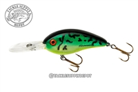 Bomber Fat Free Shad Dances Fire Tiger  3in