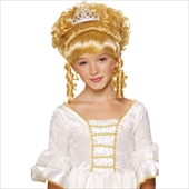 Blonde Child Wig with Tiara