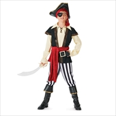 Pirate Scoundrel Elite Collection Child Costume