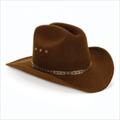 Child Cowboy Hat (Brown)