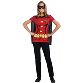 Robin (Female) T-Shirt Adult Costume Kit | 212046
