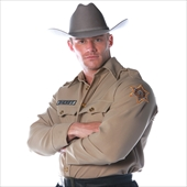 Sheriff Shirt Adult Costume