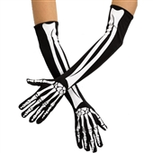 Skeleton Opera Adult Gloves | 243016