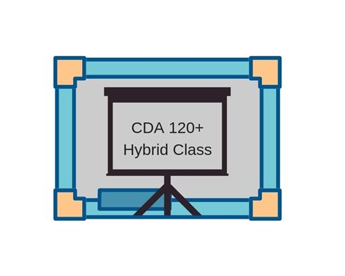 cda 120+ hybrid class - fall 2018