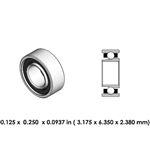 Dental Highspeed Bearing - DA02A2L - For Midwest and Morita