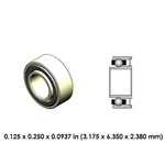 Dental Highspeed Ceramic Bearing - DA02J2L-814 - For KaVo