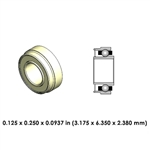Dental Highspeed Ceramic Bearing - DA21J2G-801 - For KaVo and Sirona
