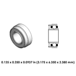 Dental Highspeed Bearing - DA21J2L - For KaVo