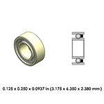 Dental Highspeed Ceramic Bearing - DR02A2L-801 -  - Midwest and NSK