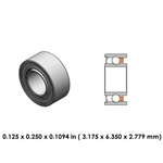 Dental Highspeed Bearing - DR55B1G - For W&H