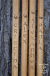 Custom Engrave Staff - per each