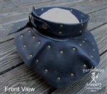 Metal and Leather Gorget
