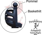 Pommel for Knightshop Baskethilt (No Blade)