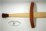 Longsword L1 - Hickory with Cherry Guard and Pommel