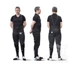 PBT Full Protective Elastic Pants, 350N for Men