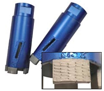 "RamboTM PT Dry Core Bits 1-1/4"" up to 2"""