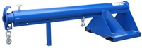 "Granite 6000 LBS. Non-Telescopic or Telescopic 24"" Rise Lift Jib Forklift Boom"
