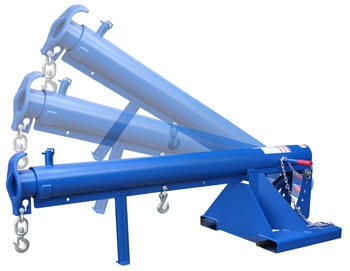 Granite 4000 LBS. Tilting Non-Telescopic or Telescopic Lift Jib Forklift Boom