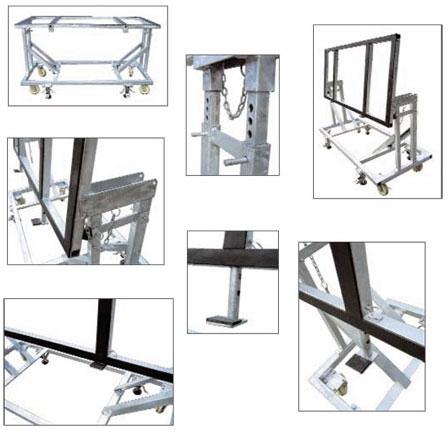 Groves Tilt Table Granite Cart